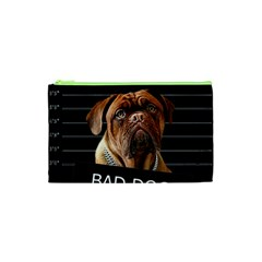 Bed Dog Cosmetic Bag (xs) by Valentinaart