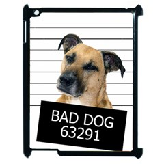 Bad Dog Apple Ipad 2 Case (black) by Valentinaart