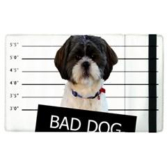 Bad Dog Apple Ipad 2 Flip Case by Valentinaart