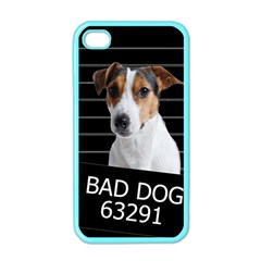 Bad Dog Apple Iphone 4 Case (color) by Valentinaart