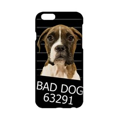 Bad Dog Apple Iphone 6/6s Hardshell Case by Valentinaart