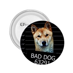 Bad Dog 2 25  Buttons by Valentinaart