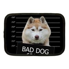 Bad Dog Netbook Case (medium)  by Valentinaart