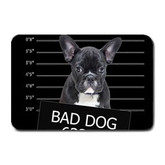 Bad Dog Plate Mats by Valentinaart