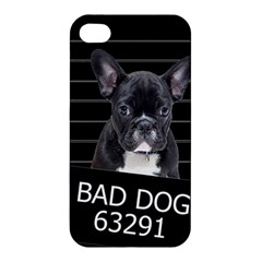 Bad Dog Apple Iphone 4/4s Hardshell Case by Valentinaart