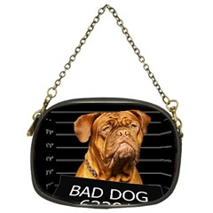 Bad Dog Chain Purses (one Side)  by Valentinaart