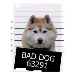 Bad Dog Apple Ipad 3/4 Hardshell Case by Valentinaart