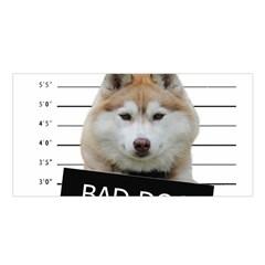Bad Dog Satin Shawl by Valentinaart