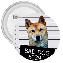 Bad Dog 3  Buttons by Valentinaart