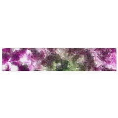Purple Green Paint Texture          Flano Scarf by LalyLauraFLM