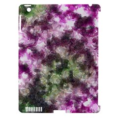 Purple Green Paint Texture    Apple Ipad 3/4 Hardshell Case (compatible With Smart Cover) by LalyLauraFLM