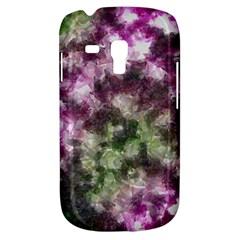 Purple green paint texture    Samsung Galaxy Ace Plus S7500 Hardshell Case by LalyLauraFLM