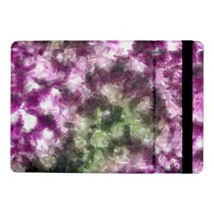 Purple Green Paint Texture    Samsung Galaxy Tab Pro 8 4  Flip Case by LalyLauraFLM