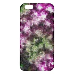 Purple Green Paint Texture    Iphone 6/6s Tpu Case by LalyLauraFLM