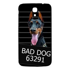 Bad Dog Samsung Galaxy Mega I9200 Hardshell Back Case by Valentinaart
