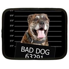 Bad Dog Netbook Case (xl)  by Valentinaart
