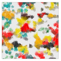 Colorful Paint Stokes           Satin Scarf by LalyLauraFLM