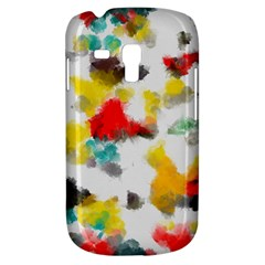Colorful paint stokes     Samsung Galaxy Ace Plus S7500 Hardshell Case by LalyLauraFLM