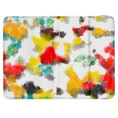 Colorful Paint Stokes     Htc One M7 Hardshell Case by LalyLauraFLM