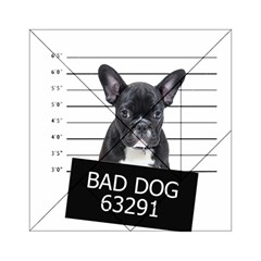 Bad Dog Acrylic Tangram Puzzle (6  X 6 ) by Valentinaart