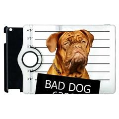 Bad Dog Apple Ipad 3/4 Flip 360 Case by Valentinaart