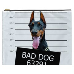 Bad Dog Cosmetic Bag (xxxl)  by Valentinaart