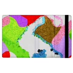 Painted Shapes      Kindle Fire (1st Gen) Flip Case by LalyLauraFLM