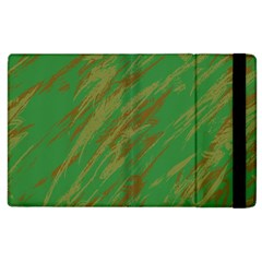 Brown Green Texture       Kindle Fire (1st Gen) Flip Case by LalyLauraFLM