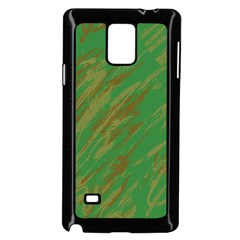 Brown Green Texture       Samsung Galaxy Note 4 Case (white) by LalyLauraFLM
