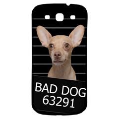 Bad Dog Samsung Galaxy S3 S Iii Classic Hardshell Back Case by Valentinaart