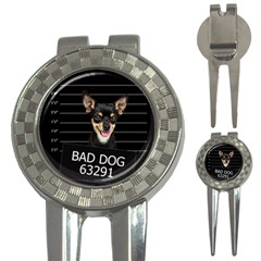 Bad Dog 3 In 1 Golf Divots by Valentinaart