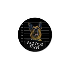 Bad Dog Golf Ball Marker (4 Pack) by Valentinaart