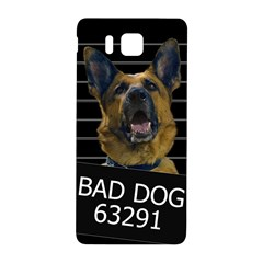 Bad Dog Samsung Galaxy Alpha Hardshell Back Case by Valentinaart