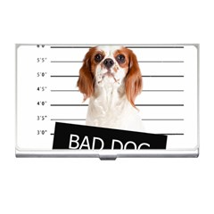 Bad Dog Business Card Holders by Valentinaart