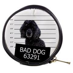 Bad Dog Mini Makeup Bags by Valentinaart