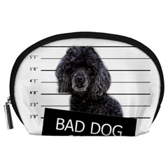 Bad Dog Accessory Pouches (large)  by Valentinaart