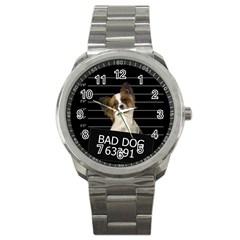 Bad Dog Sport Metal Watch by Valentinaart