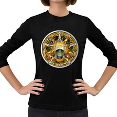 Samhain Sabbat Pentacle Women s Long Sleeve Dark T Shirts by NaumaddicArts