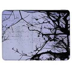 Grebe Spotting Ink Samsung Galaxy Tab 7  P1000 Flip Case by DeneWestUK