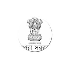 Seal Of Indian State Of Tripura Golf Ball Marker (4 Pack) by abbeyz71