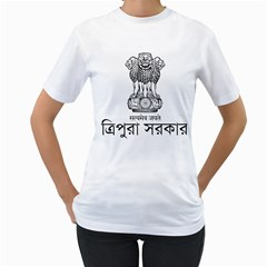 Seal Of Indian State Of Tripura Women s T Shirt (white)  by abbeyz71