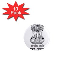 Seal Of Indian State Of Tripura 1  Mini Magnet (10 Pack)  by abbeyz71