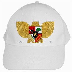 National Emblem Of Indonesia  White Cap by abbeyz71