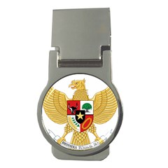 National Emblem Of Indonesia  Money Clips (round)  by abbeyz71