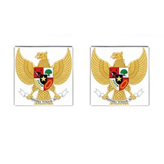 National Emblem Of Indonesia  Cufflinks (square) by abbeyz71