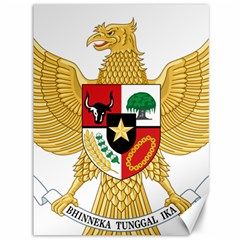 National Emblem Of Indonesia  Canvas 36  X 48   by abbeyz71