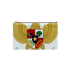 National Emblem Of Indonesia  Cosmetic Bag (small)  by abbeyz71