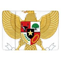National Emblem Of Indonesia  Samsung Galaxy Tab 8 9  P7300 Flip Case by abbeyz71