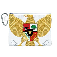 National Emblem Of Indonesia  Canvas Cosmetic Bag (xl) by abbeyz71