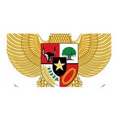 National Emblem Of Indonesia  Satin Wrap by abbeyz71